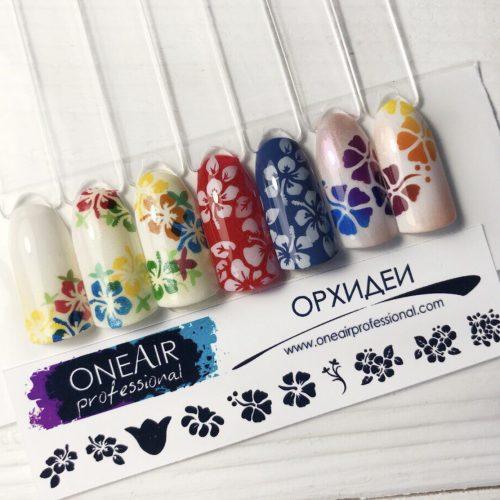 Szablon OneAir 05 Orchidee - Орхидеи